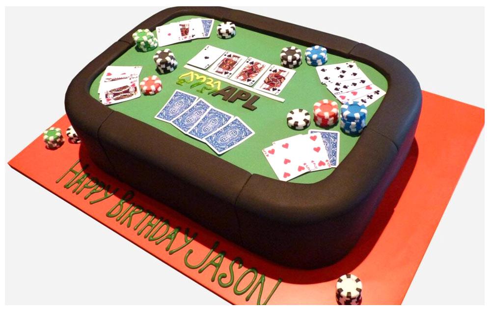 Défi : des Top cakes design sur le poker et les jeux